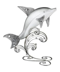 This Dolphin Figurine by Regal Art & Gift is perfect! #zulilyfinds