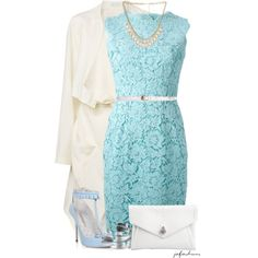 """Lace Dress Contest"" by jafashions on Polyvore"