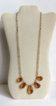 measures 36cm. A Choker necklace made of transparent nylon thread and a beautiful pendant bead black amber scented handmade