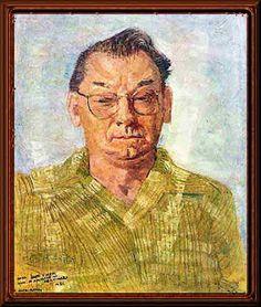"""""""Auto-retrato"""" - Candido Portinari"""
