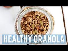 HEALTHY GRANOLA RECIPE + 5 WAYS TO EAT IT - YouTube
