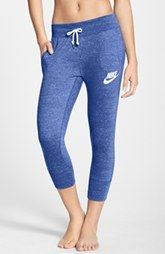 Nike 'Gym Vintage' Capri Sweatpants