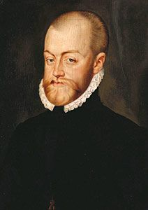 Phillip II, King of Spain, great-nephew of Catherine of Aragon, Husband of Queen Mary I | Flickr - Photo Sharing!