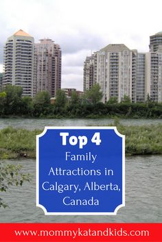 Calgary is a beautiful city in Alberta, Canada with plenty to see and do. If you're traveling to Calgary with your family, you'll want to check out these 4 family-friendly attractions in Calgary. Don't forget to save these things to do with kids in Calgar Best Family Vacations, Family Destinations, Family Travel, Backpacking Canada, Canada Travel, Canada Holiday, Visit Canada, Alberta Canada