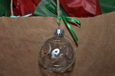 Building Beautiful: Fifth Day of Christmas: Glass gift tags