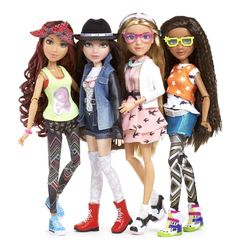 To appeal to girls' interest in STEM, MGA Entertainment launched four dolls to focus on each aspect of the field: science, technology, engineering and math. Each doll in the line, known as Project Mc². New Dolls, Barbie Dolls, Kids Dolls, Barbie Hair, Matilda, Project Mc Square, Project Mc2 Dolls, Miss Priss, Zapf Creation