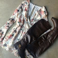 Ethereal Beauty Floral Romper