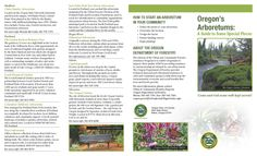 Oregon's arboretums : a guide to some special places, by the Oregon Department of Forestry