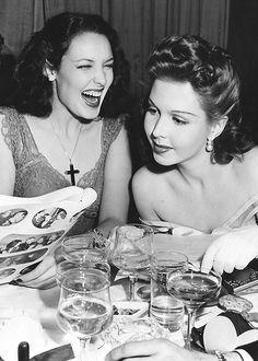 Linda Darnell & Ann Miller
