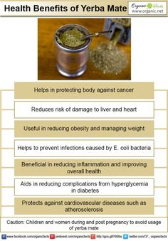 Yerba mate has many health benefits such as reduced risk of cardiovascular diseases, cancer and improved health. It has antioxidant properties and helps in healthy weight loss. It also has antimicrobial properties and anti-inflammatory properties.