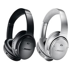 3fcb7760b6b Bose QuietComfort 35 II Black & Silver Kit | Wireless Noise-Cancelling  Headphones