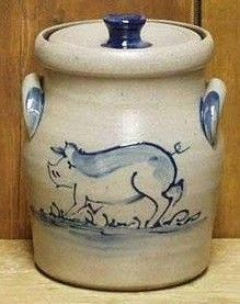 http://www.wisconsinmade.com/gift-ideas/Pig-Canisters-Rowe-Pottery-4615.aspx