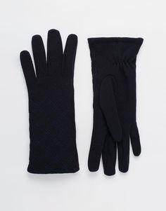 Handschuhe von Totes Thermo-Stoff Steppmuster abgesetzte Nähte Handwäsche 100% Polyester