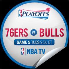 76ers v Bulls Game 5