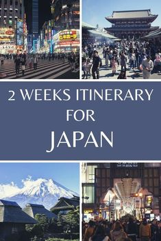 Awesome 2 Weeks Japan Itinerary (Plus More)