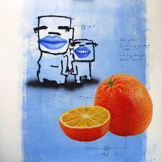 "Saatchi Art Artist Jan-Hein Arens; Painting, ""Now you know"" #art"