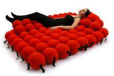 Un lit moléculaire : Ces lits qui font rêver - Linternaute