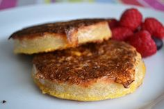 Comfort Bites...: French Toast Style Crumpets with Maple Syrup