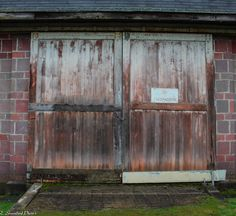 old barn doors, Fort Steilacoom park wa  https://www.flickr.com/photos/132849904@N08/shares/6z945f | estelle greenleaf's photos