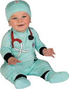 Infant Doctor Halloween Costumes. Do you want to dress up your baby as a doctor for Halloween? Here are some cute infant doctor onesies and costumes for your babies first Halloween.