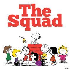 The Peanuts squad