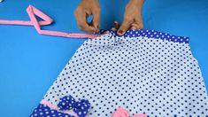 ¡Fácil! Aprende Cómo Hacer Un Vestido De Niña De Forma Fácil Y Trae Patrones | Manualidades eli... Baby Girl Dresses, Cami, Beach Mat, Outdoor Blanket, Bella, Couture, Bikinis, Easy Dress, Infant Dresses