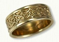 Celtic Crynoch Knot Band, Celtic Wedding Rings @ affordable prices online!