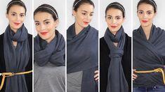 Comment porter une écharpe ou un foulard ? 5 façons