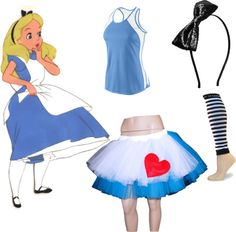 """alice in wonderland"" by everettlois on Polyvore"