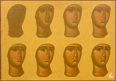 Byzantine Icons, Byzantine Art, Writing Icon, Paint Icon, Face Icon, Religious Icons, Catholic Art, Orthodox Icons, Russian Art