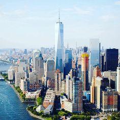 Good Morning New York City by @nyonair @jayobs @flynyon #newyorkcityfeelings #nyc #newyork