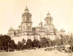 Catedral de la ciudad de México en 1890