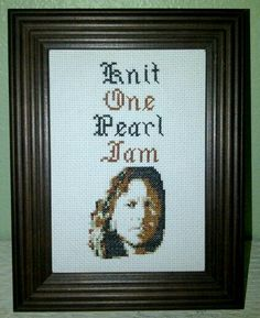 Knit One Pearl Jam