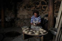 Making delicious bread!