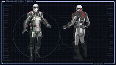 Star Wars Concept Art : Imperial agent #SWTOR #gaming