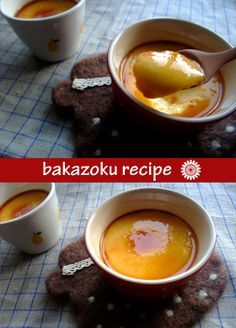Bakazoku pudding