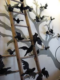Halloween Decor Ideas: 50 Spooky Pictures to inspire your decorating for the dark holiday. Halloween Eyes, Halloween Fashion, Holidays Halloween, Halloween Crafts, Happy Halloween, Halloween Decorations, Halloween Party, Halloween Clothes, Halloween Magic