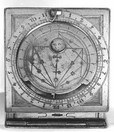 Erasmus Habermel, Astronomical Compendium (Louvre) - made for Diana? Shaun Tan, Ancient Astronomy, Astro Science, Physics And Mathematics, A Discovery Of Witches, All Souls, Magical Creatures, Instruments, Book Of Life