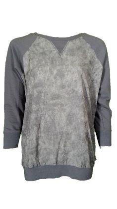 Calvin Klein Gray Long Sleeve Sweater