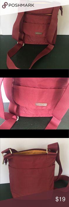 cd05a3423410 Selling this Baggaliini Maroon Medium Crossbody Bag Purse on Poshmark! My  username is  guusje.  shopmycloset  poshmark  fashion  shopping  style   forsale ...