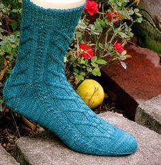 Ravelry: Merry Socks pattern by Claire Ellen