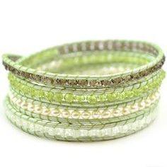 cool DIY Bijoux - Tricks to Laddering   Free Multi-Wrap Bracelet Project Tutorial