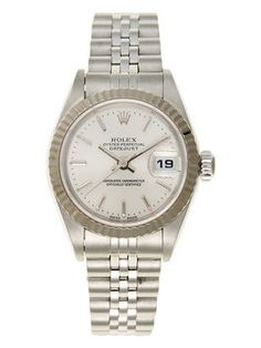 Rolex Stainless Steel Datejust Unisex Watch. Get the lowest price on Rolex Stainless Steel Datejust Unisex Watch and other fabulous designer clothing and accessories! Shop Tradesy now