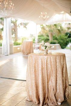 Chic Seaside North Carolina Wedding from Sarah Goodwin - wedding cocktail hour idea