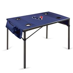 NFL Houston Texans Portable Soft Top Travel Table Navy ** Offer can be found by clicking the VISIT button