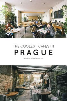 The Coolest Cafes in Prague, Czech Republic - Adventure at WorkYou can find Czech republic and more on our website.The Coolest Cafes in Prague, Czech Republic - Adventure at. Drive In, Prague Restaurants, Prague Nightlife, Prague Hotels, Nightlife Travel, The Places Youll Go, Places To Go, Prague Astronomical Clock, John Lennon Wall