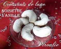 Croissants de lune vanille noisette : de délicieux sablés ultra fondants pour Rosh Hashana
