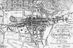 Google Image Result for http://www.edinphoto.org.uk/0_maps/0_map_edinburgh_old_town_and_new_town_1817.jpg - Edinburgh is featured in the Bad Angels books. I used old maps, photos and my own experience in the Old Town to create the portals to the Other Place.