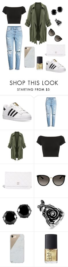 """""""Comfy Jo"""" by joanitaaa ❤ liked on Polyvore featuring adidas, Helmut Lang, Chanel, Gucci, West Coast Jewelry, Native Union and NARS Cosmetics"""