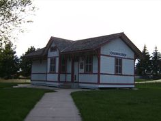 The Chicago, Milwaukee, St. Paul & Pacific Railroad (Milwaukee Road) built this small depot in Chanhassen, Minnesota in 1882.